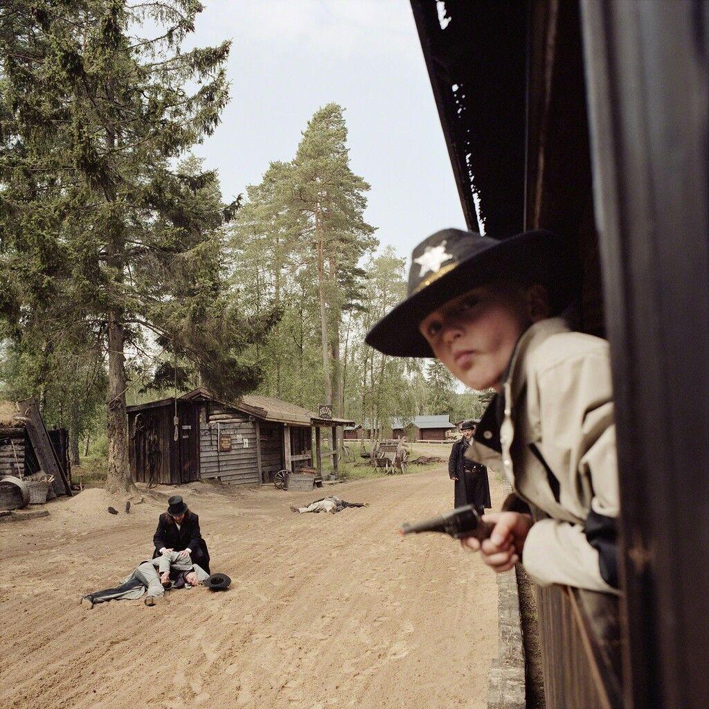 Train Bandits, High Chaparral, Hillerstop, Sweden