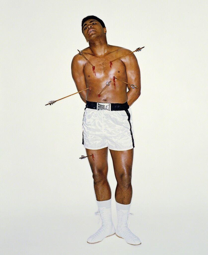 Muhammad Ali as Saint Sebastian