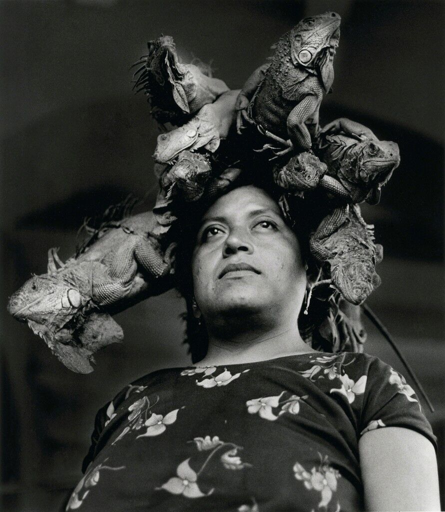 Señora de las Iguanas, Juchitán