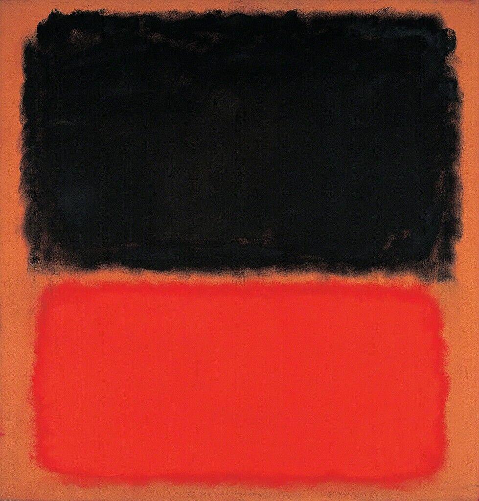 Mark Rothko | Untitled (Black and Orange on Red) (1962) | Artsy