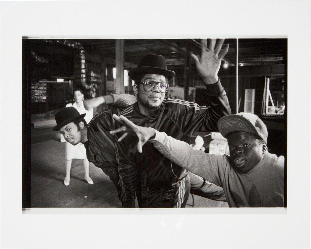 Run DMC and Teddy No Neck at Silvercup Studios, Queens, NY 1985
