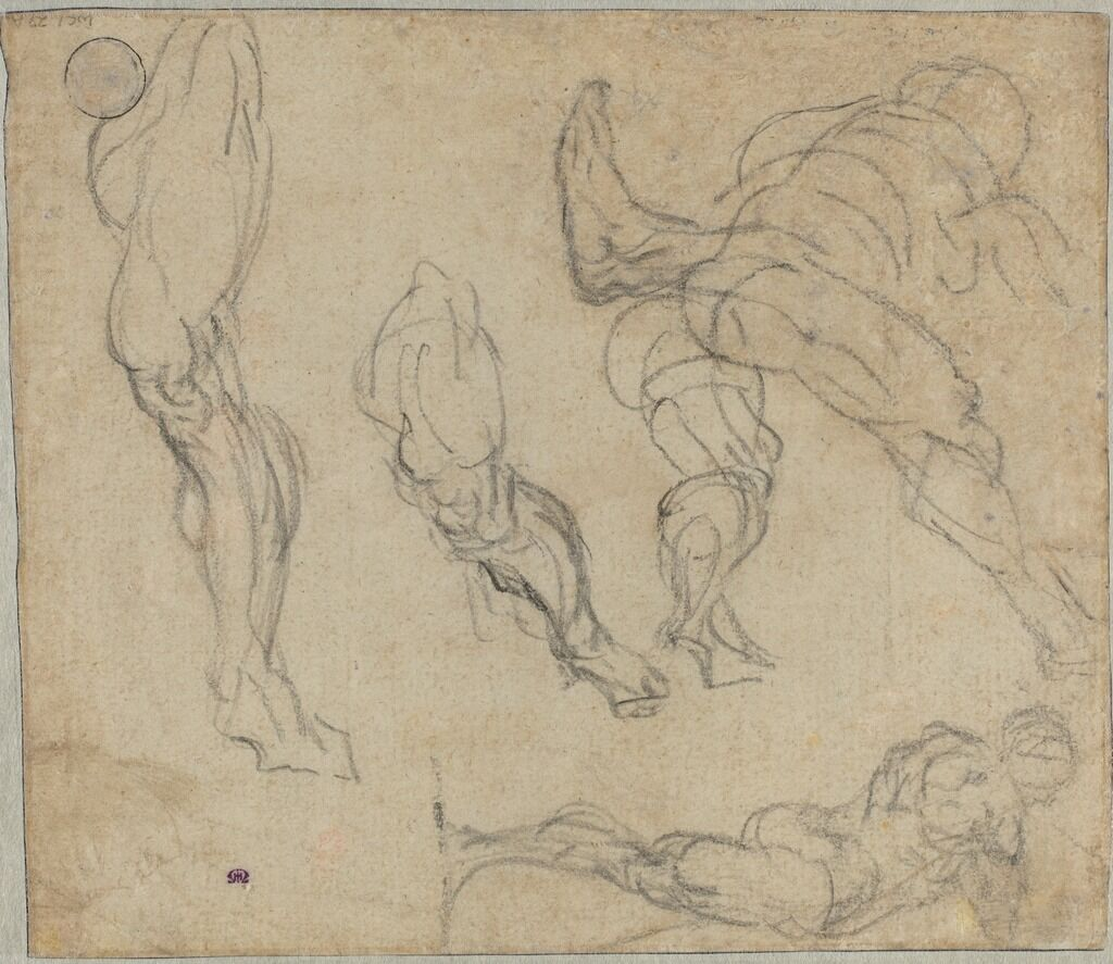 Figures and Legs (verso)