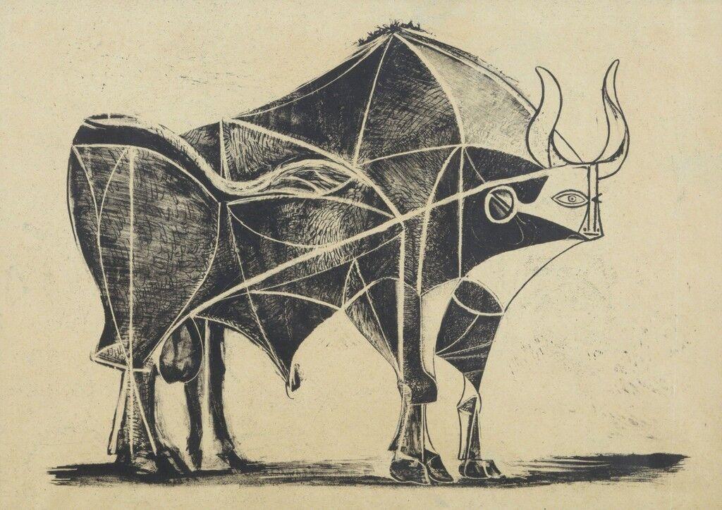 Picasso S Bull Prints Still Inspire Apple Designs Artsy