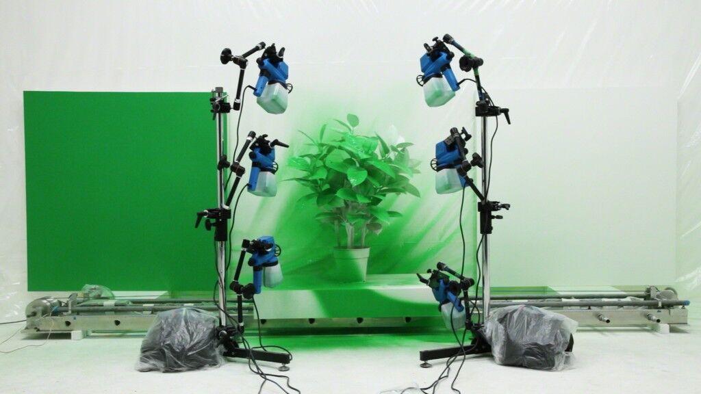 Semi Automatic Painting Machine