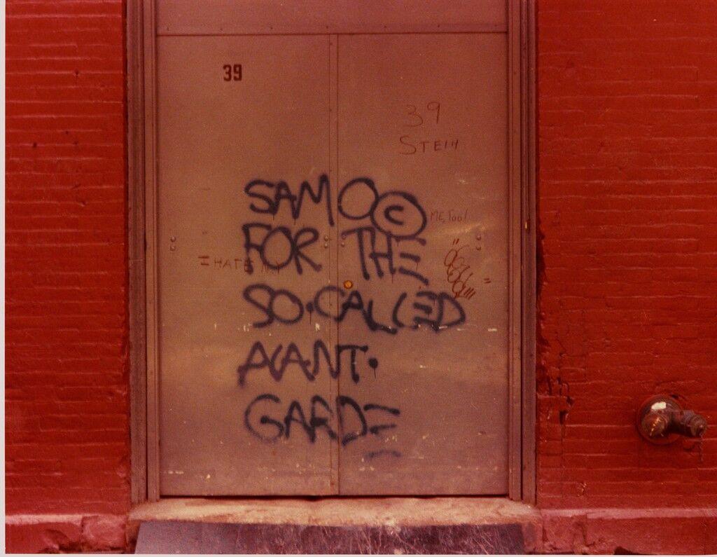 The SAMO© Graffiti