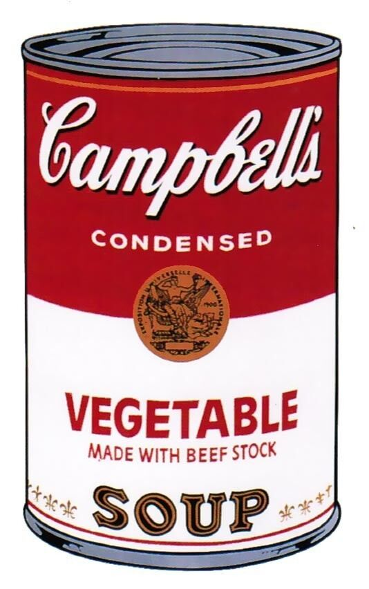 Campbell's Soup I: Vegetable II.48