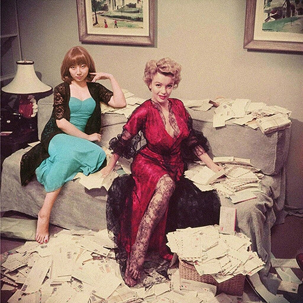 Marilyn Monroe & Celine Liu
