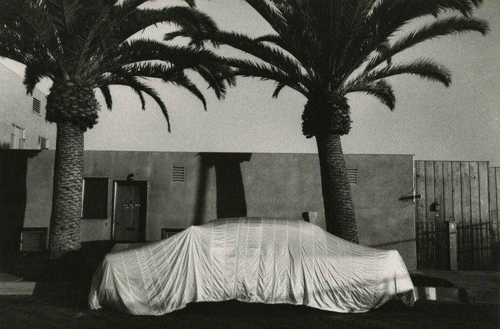Covered Car--Long Beach, California