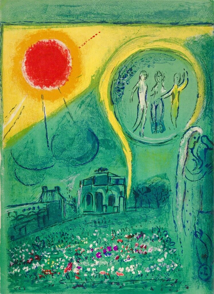 Romance, Myth, and Color in Chagall's Late Lithographs - Artsy