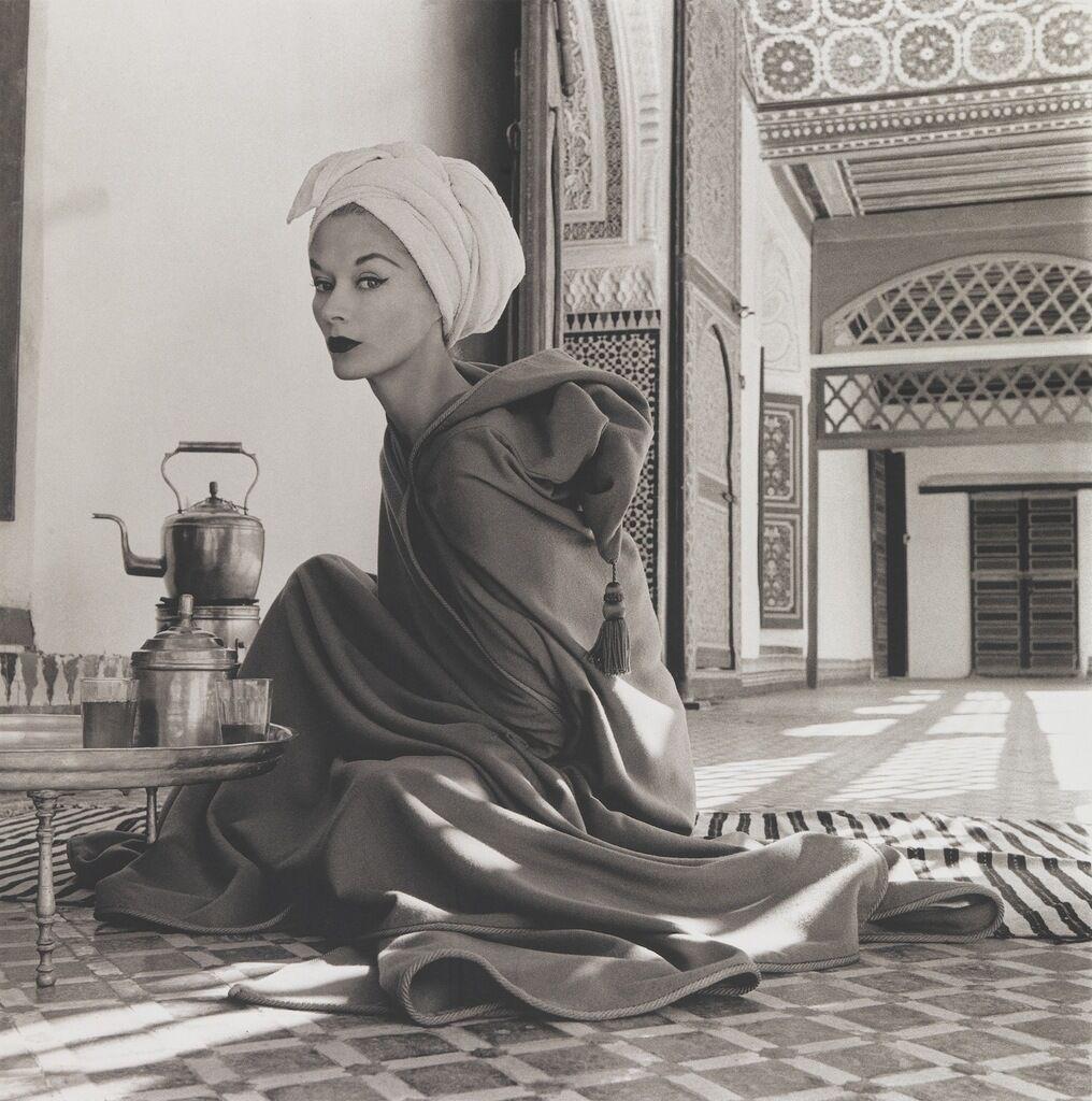 Woman in Moroccan Palace (Lisa Fonssagrives-Penn), Marrakech