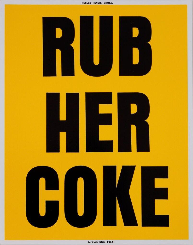 RUB HER COKE
