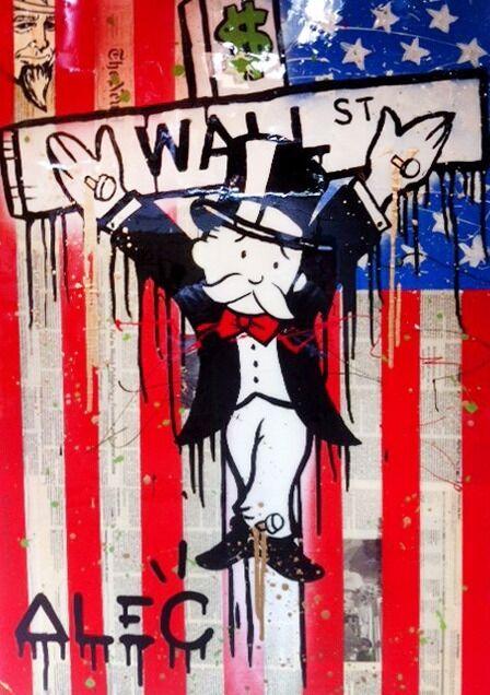 WALL STREET CRUCIFIX