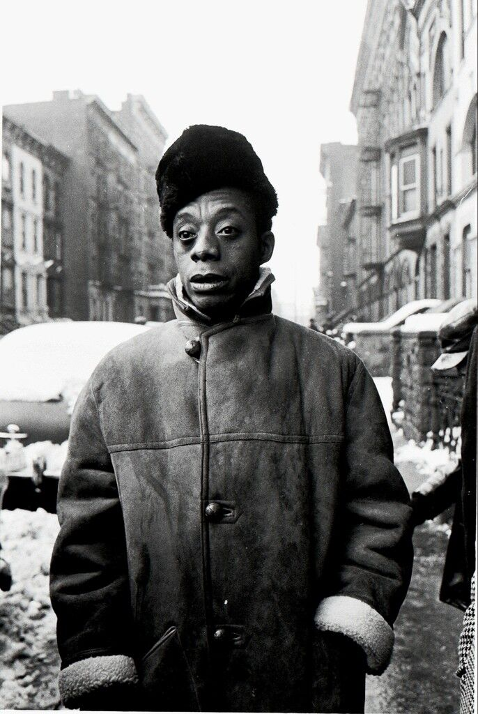 James Baldwin, Harlem, New York