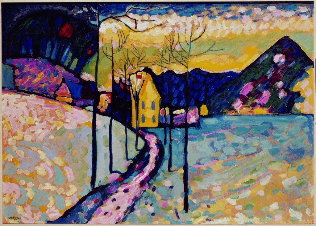 Winter Landscape I, Kochel, Bavaria