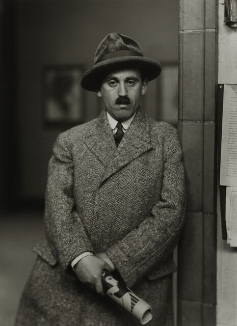 Art Dealer [Sam Salz], 1927