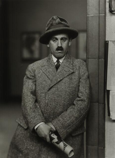 Vendedor de arte [Sam Salz], 1927