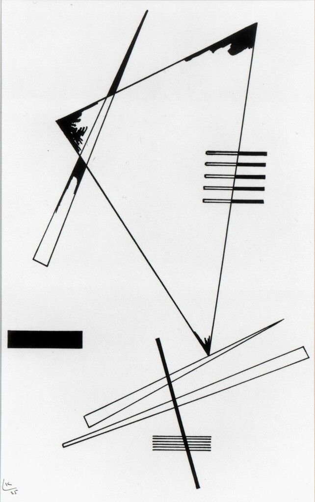 Line Composition Design : Wassily kandinsky on how to be an artist artsy