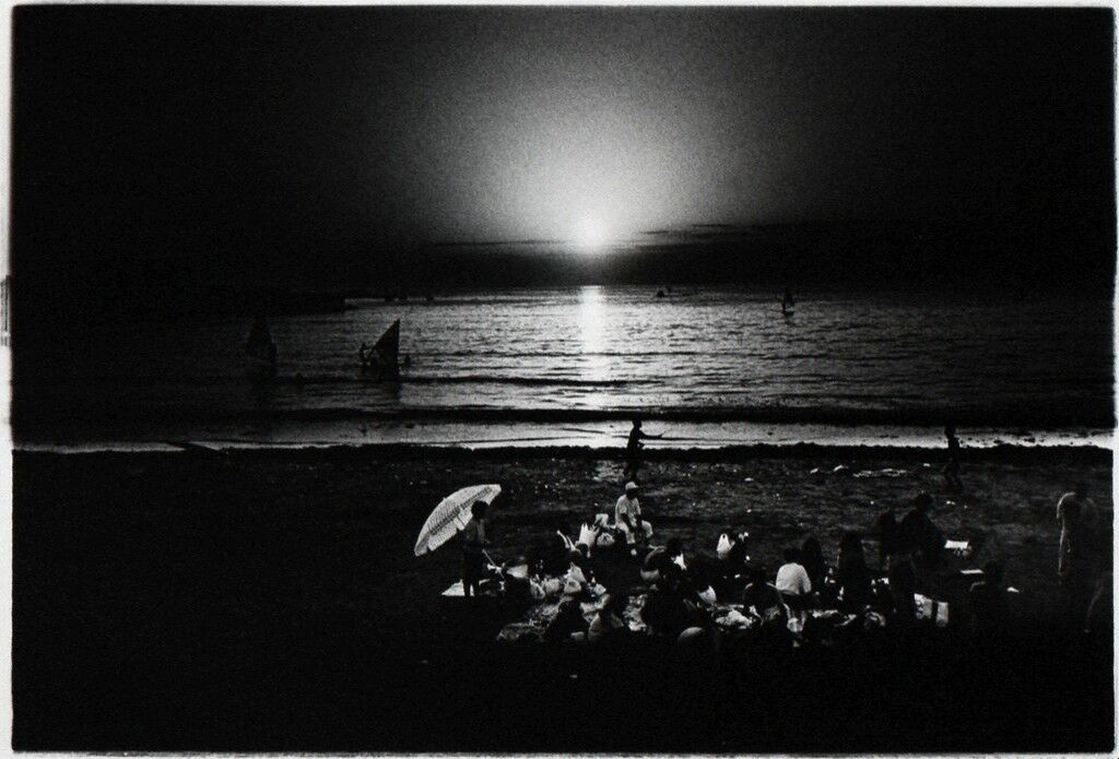 Untitled (picnic on the beach)