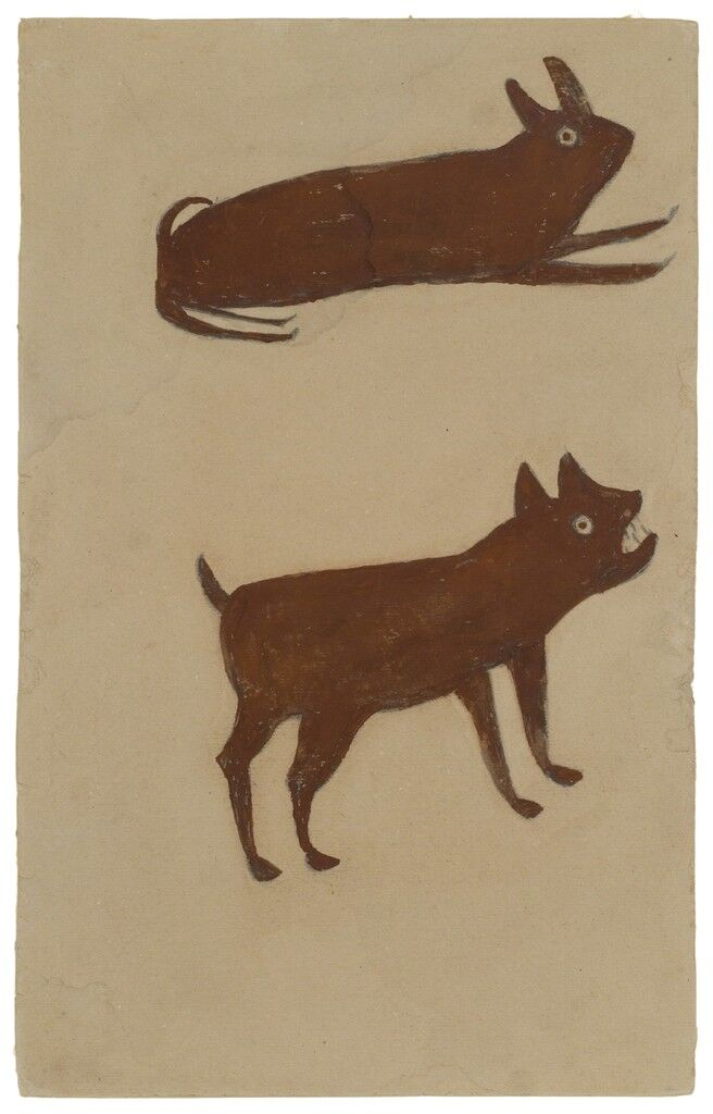 Brown Rabbit, Brown Dog