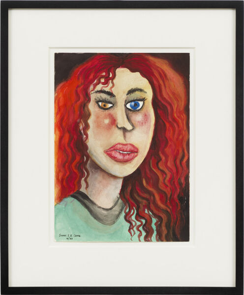 Portrait of Aline