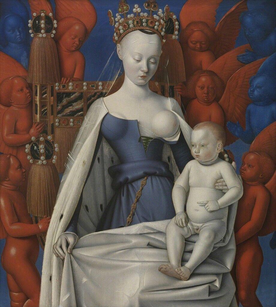 Madonna Surrounded by Seraphim and Cherubim