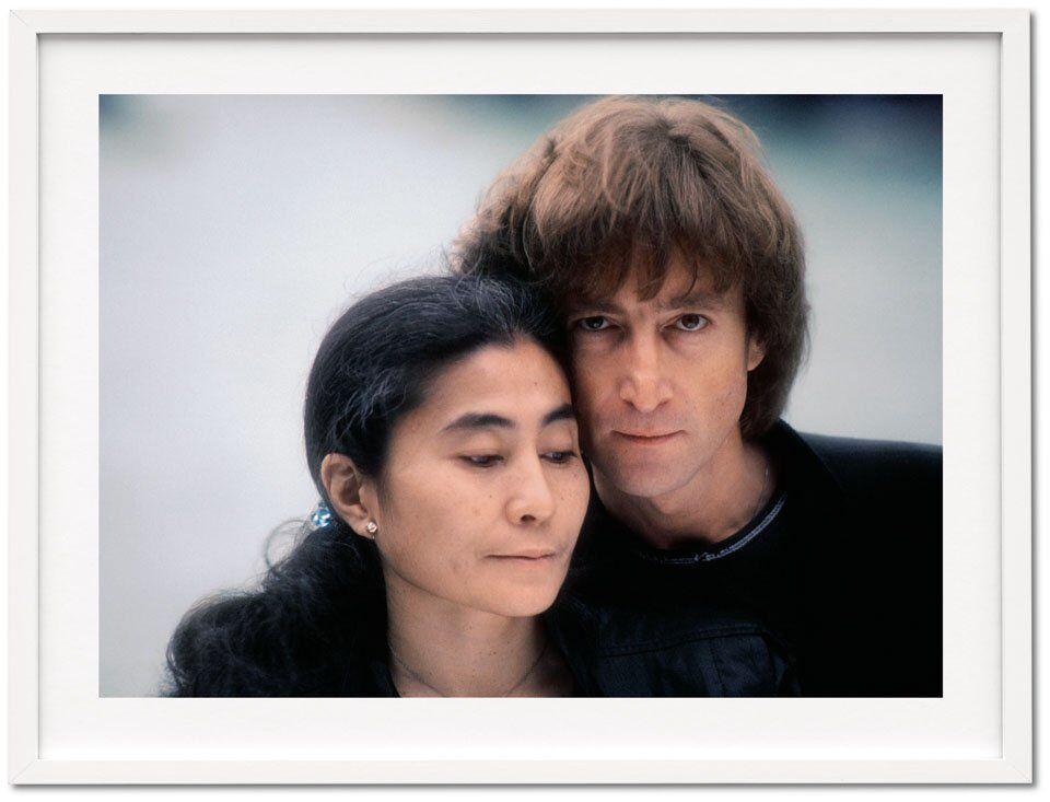 Kishin Shinoyama.  John Lennon y Yoko Ono.  Art Edition A