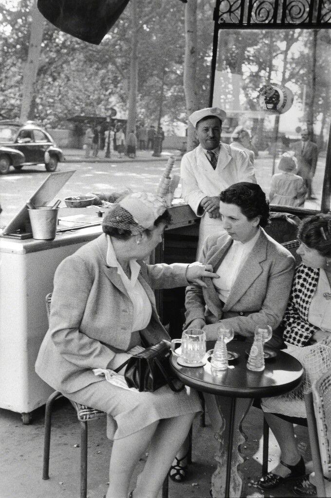 ILE DE FRANCE, PARIS, 1955