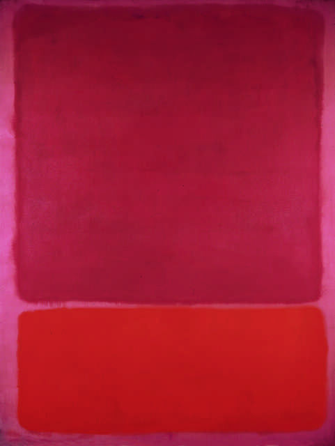 Untitled (Red, Orange)