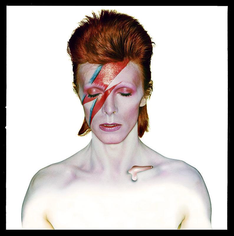 David Bowie as 'Aladdin Sane'