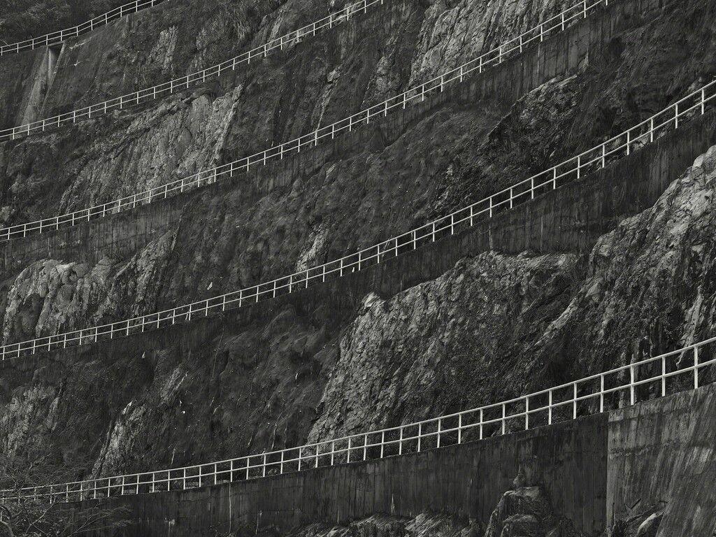 Terraced Rock Wall, Hong Kong - 2015