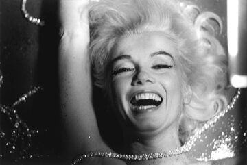 "Marilyn Monroe, From ""The Last Sitting,"" 1962 (Diamonds)"