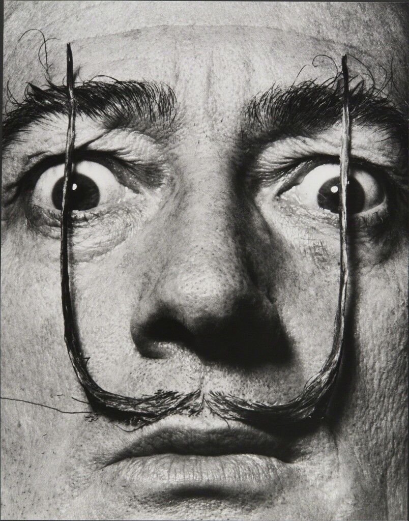 Like Two Erect Sentries, My Mustache Defends the Entrance to My Real Self, Dalí's Mustache
