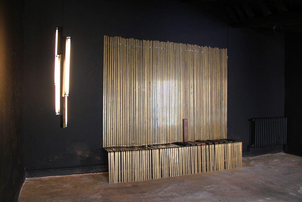 Brass Bench
