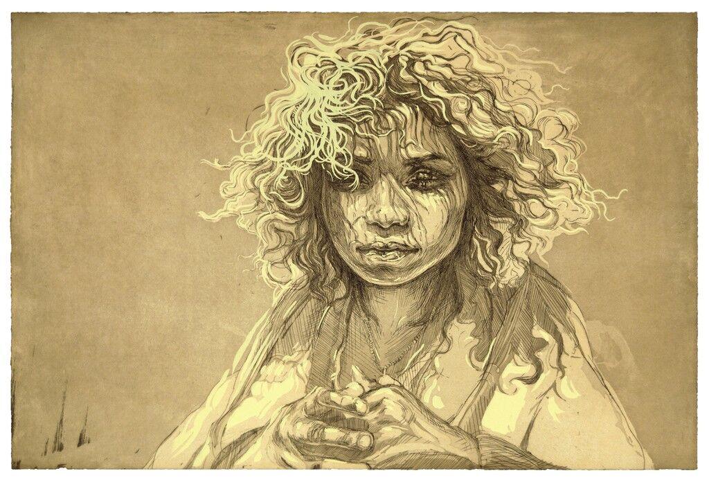 Girl with Dappled Sunlight