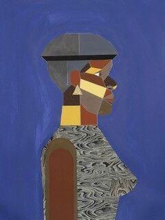 Woman in Optimum Blue