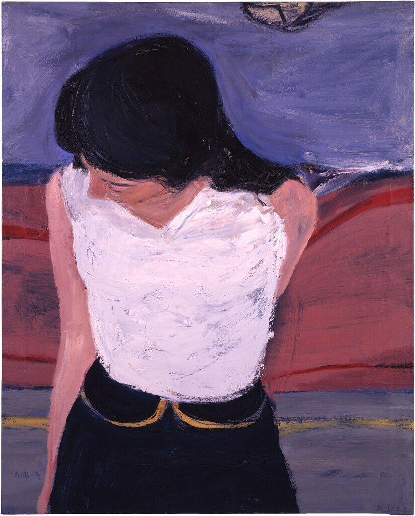 Girl in White Blouse