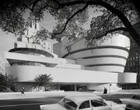 Archival Photographs of the Guggenheim Museum