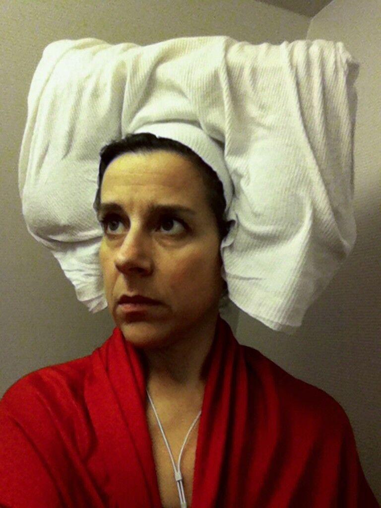 Lavatory Self-Portrait in Flemish Style #8