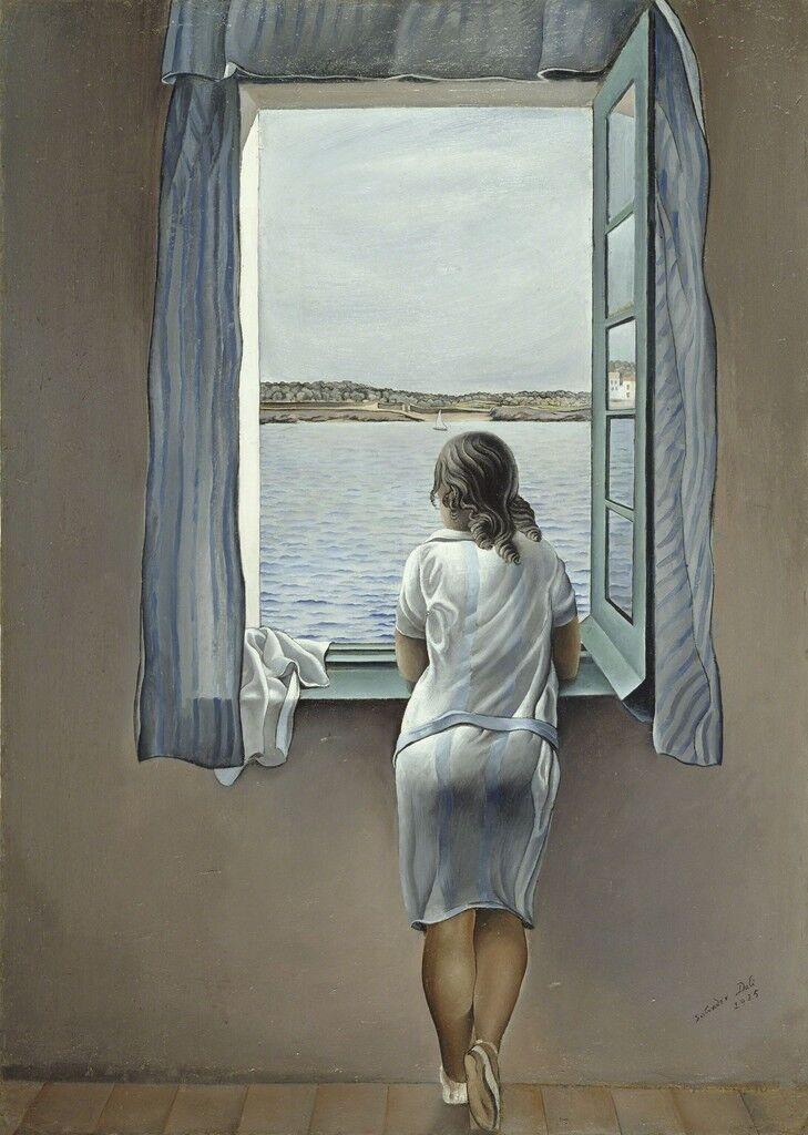 Figura en una finestra (Figure at the Window)
