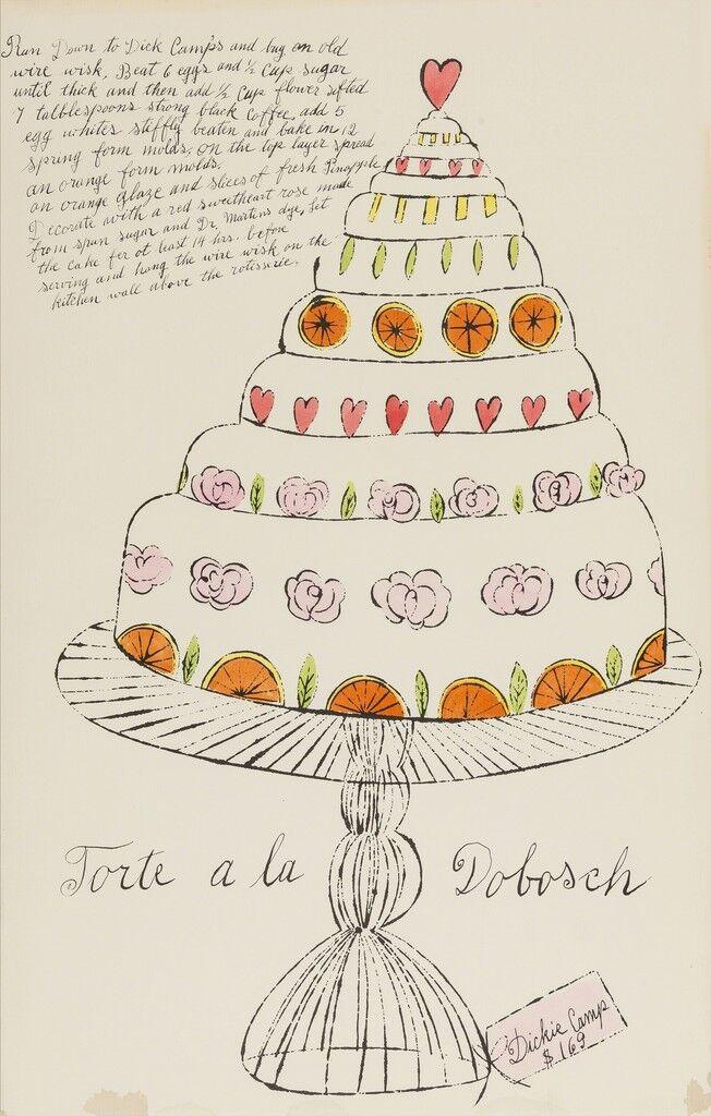Torte a La Dobosch (from Wild Raspberries) (see Feldman & Schellmann IV.130.A)