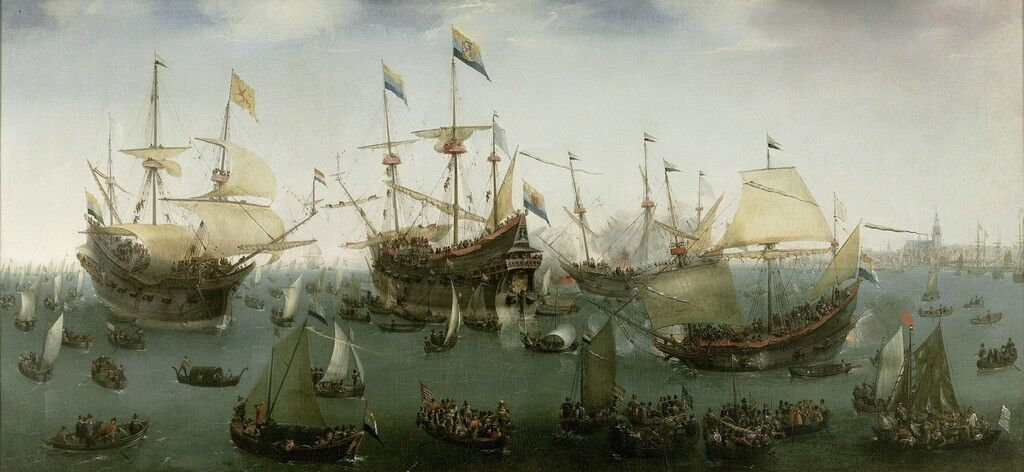 The Return to Amsterdam of the Second Expedition to the East Indies