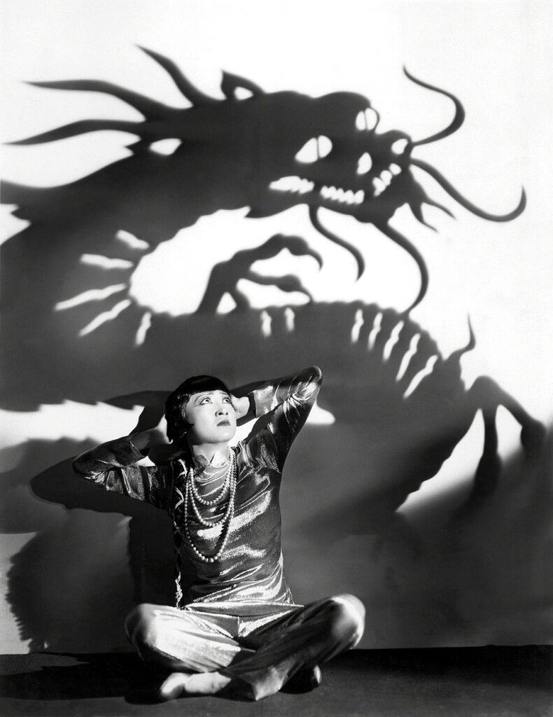 Film still from Daughter of the Dragon