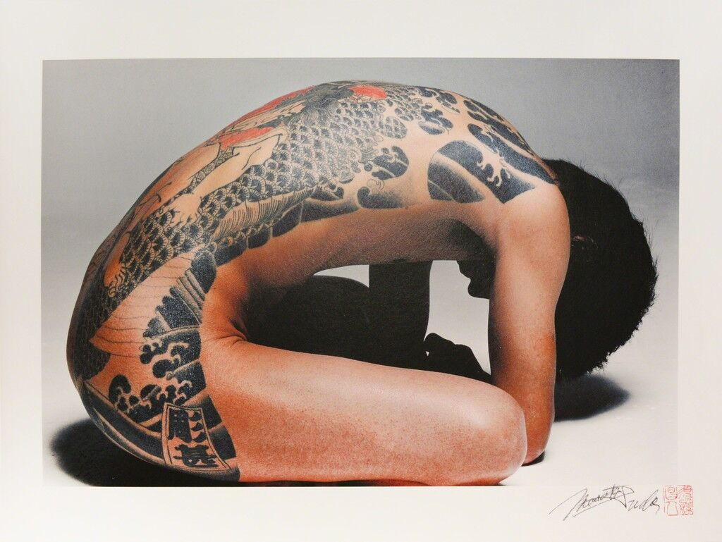 7877118fde9a4 Art Meets Taboo in the Tradition of Japanese Tattoos - Artsy
