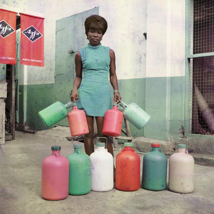 Untitled #4, Sick-Hagemeyer shop assistant, Accra
