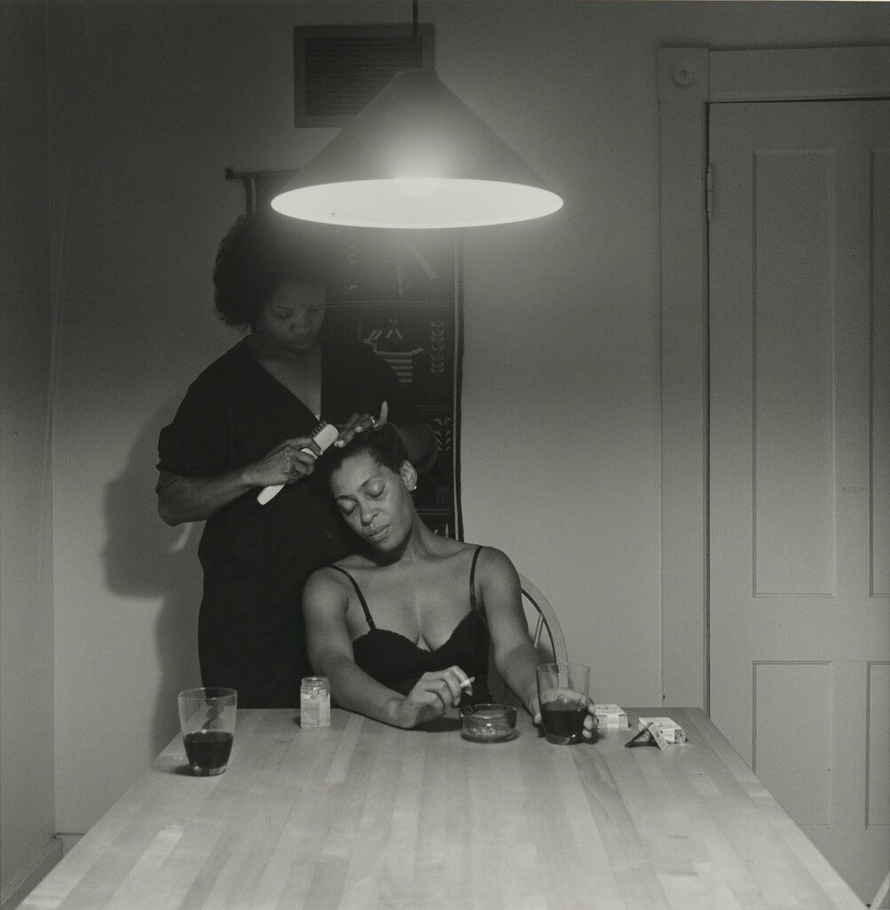 Revisiting Carrie Mae Weems S Landmark Kitchen Table Series Artsy