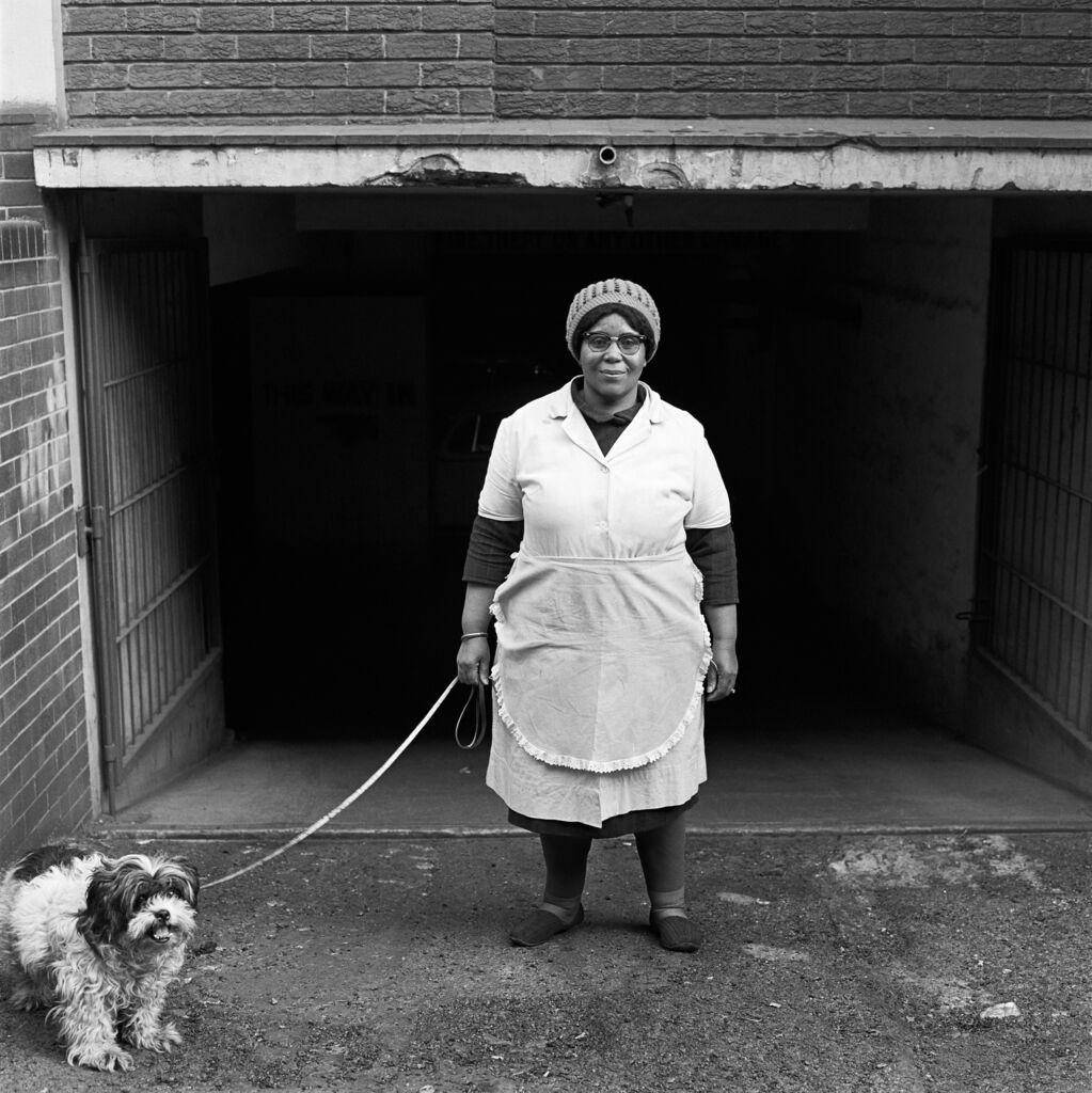 Walking the 'madam's' dog, Hillbrow