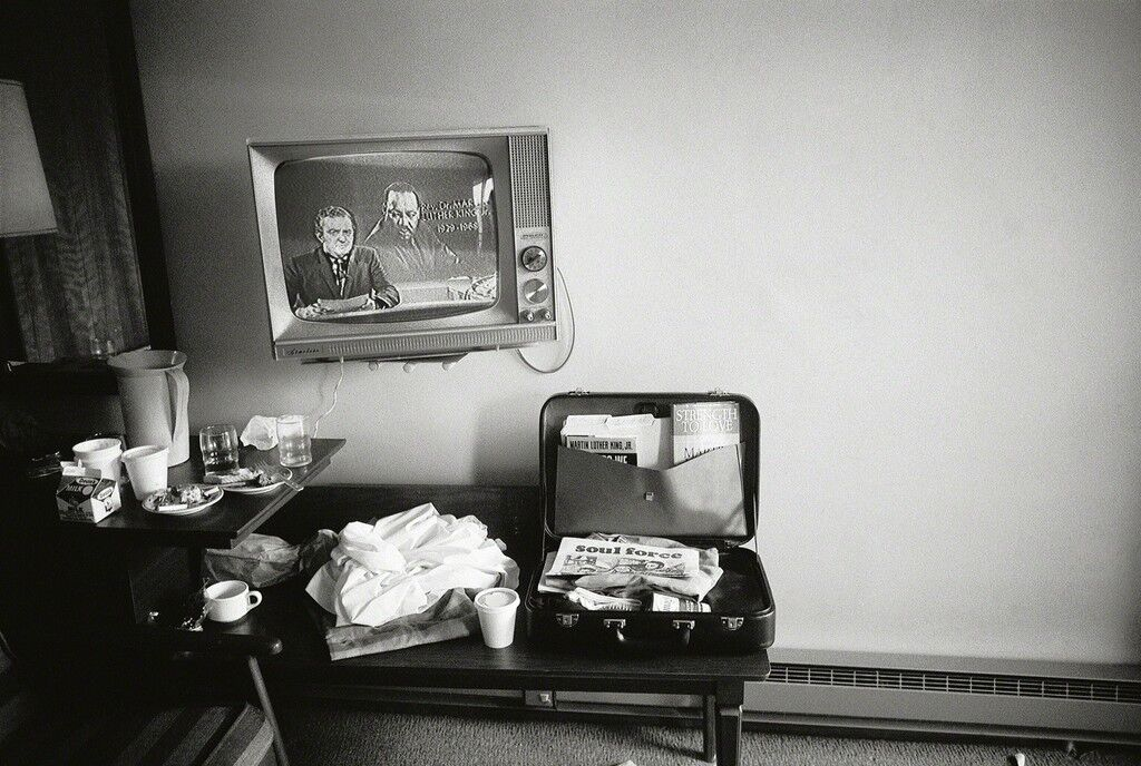 Martin Luther King Jr.'s Motel Room Hours After He Was Shot, Memphis, Tennessee