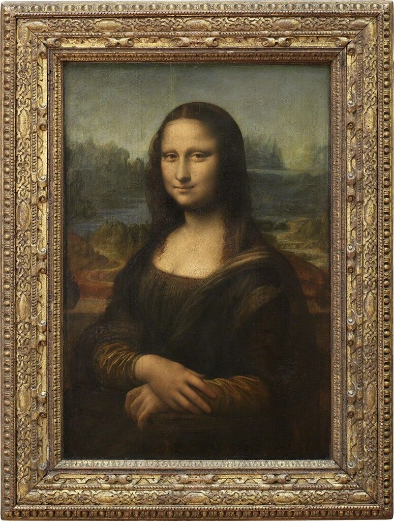Épouse de Francesco del Giocondo, dite Mona Lisa, ou la Joconde (Wife of Francesco del Giocondo, called Mona Lisa, or la Joconde)