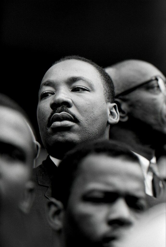 Martin Luther King (Portrait), Selma