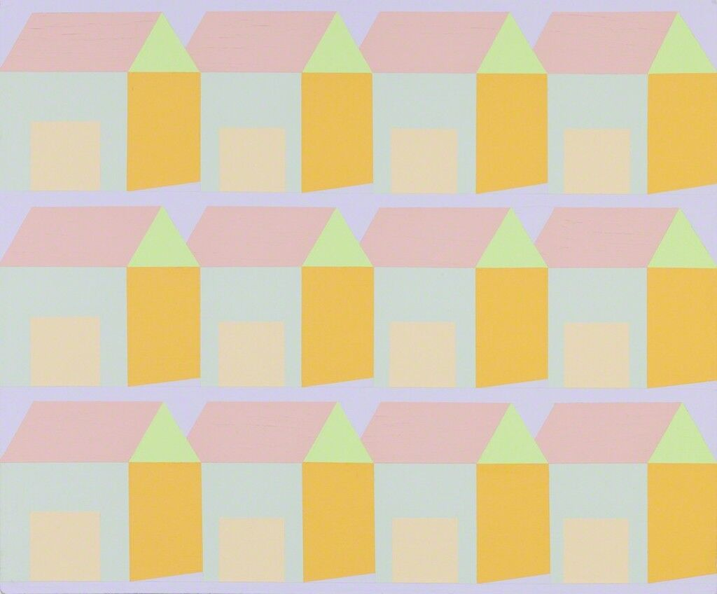 Ultramarine Pink Houses 12